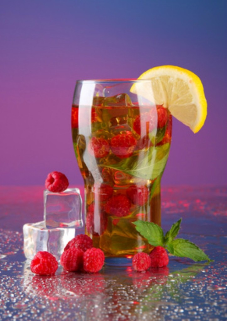Summer Iced Tea Spritzer