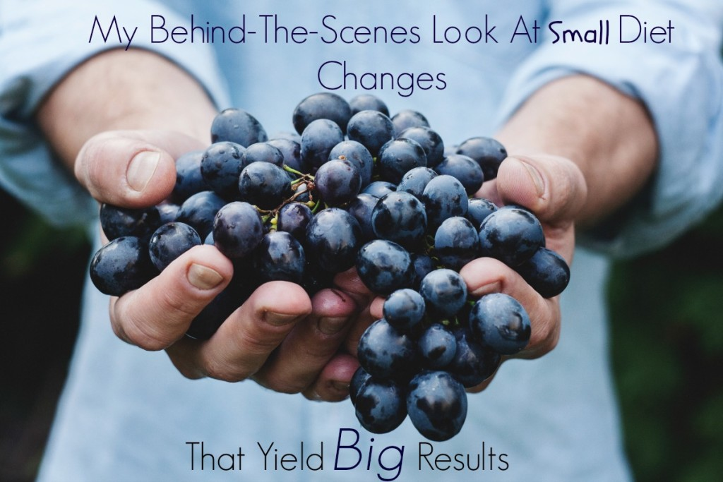 A Behind the Scenes Look at Small Diet Changes That Yield Big Results