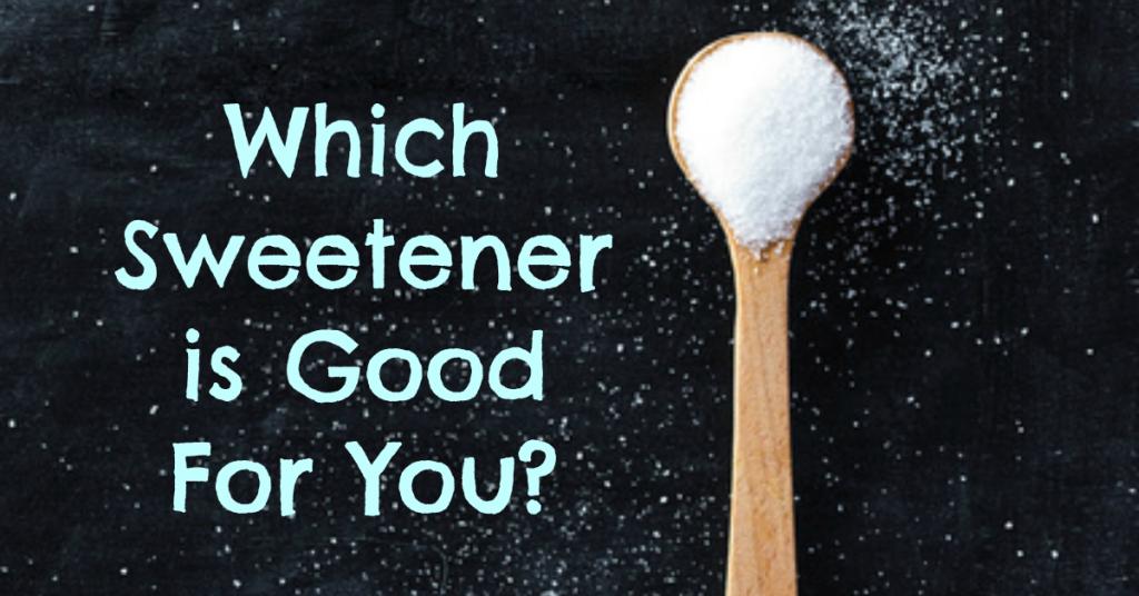 top 5 healthy sweeteners