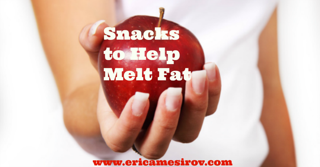 Snacks that melt fat
