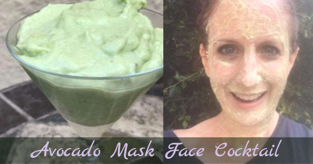 Avocado Face Mask Cocktail Recipe