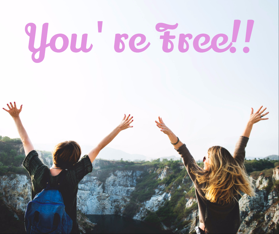 you're free to love food