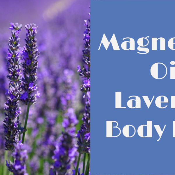 Magnesium Oil Lavender Body Balm for Sleep & Stress Relief