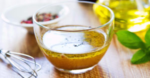 no-sugar salad dressing