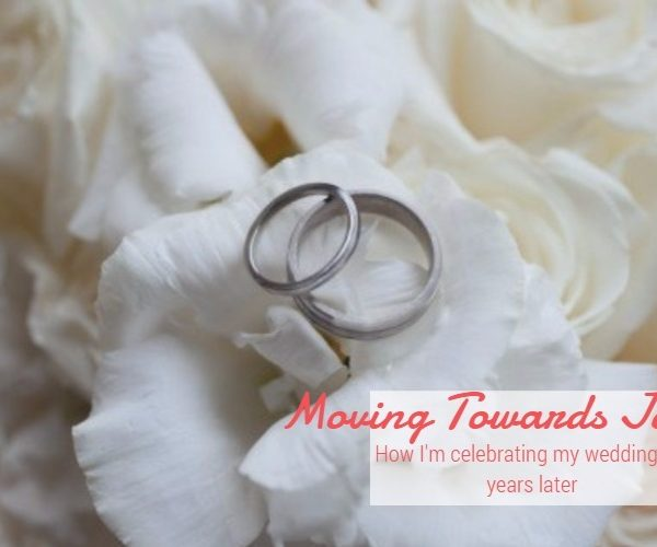 Choosing Joy Over Sorrow with my Wedding Pics & Fotor