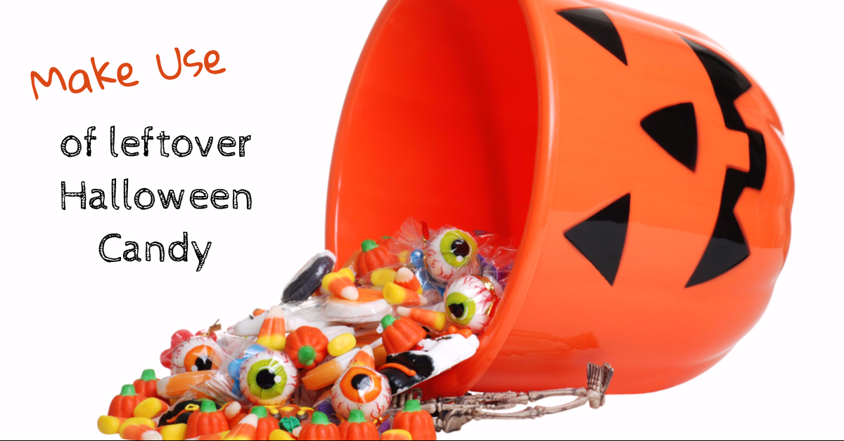 make use of leftover Halloween candy