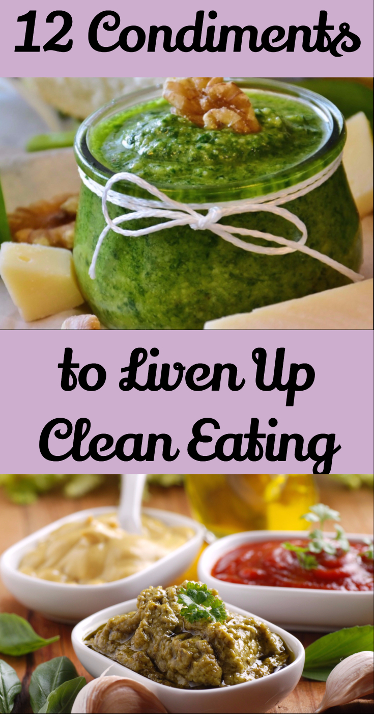 12 healthy condiments to liven up food clean eating