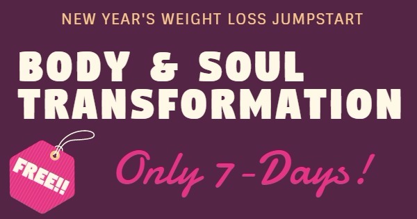 New Years Weight Loss Jump-start Program