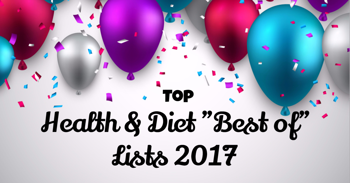 Top health & diet best of lists 2017
