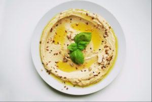 healthy condiments hummus