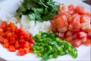 healthy condiments pico de gallo