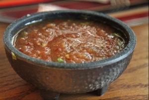 healthy condiments salsa