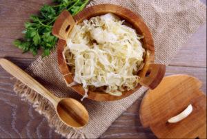 healthy condiments sauerkraut