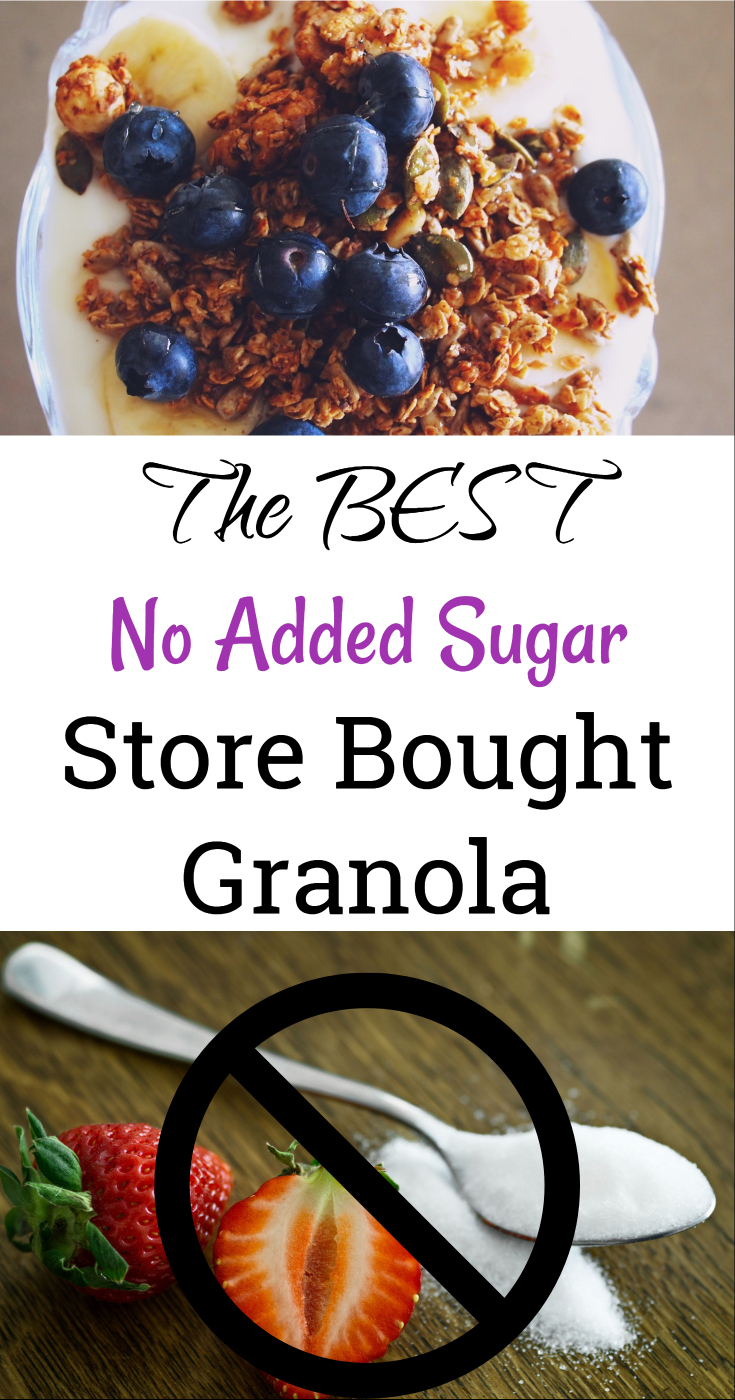 The best no added sugar store bought granola (sugar-free granola, healthy granola, healthy breakfast options, diet friendly breakfast/ paleo granola/ weight loss breakfast/ low sugar cereal/ )
