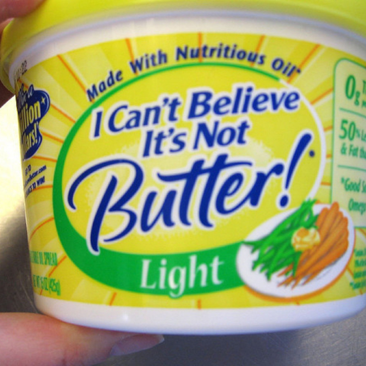 margarine - not as healthy as you'd think