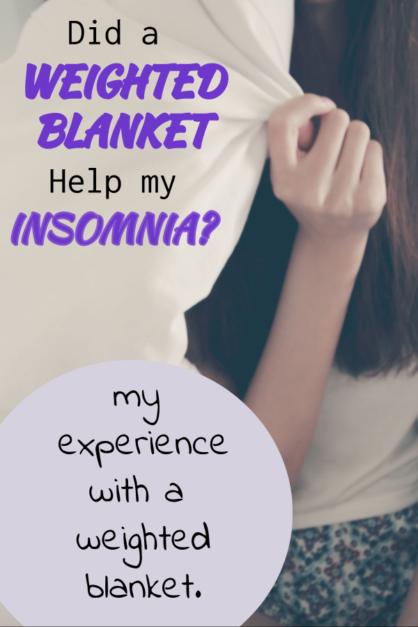 My experience with a weighted blanket (help for insomnia/ better quality sleep/ weighted blanket for better sleep/ get to sleep faster/ stop stressing at night/ sleep through the night/ weighted blanket reviews/ benefits of weighted blankets/ fall asleep faster/ stay asleep all night)
