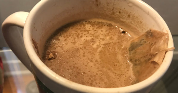 low-carb peppermint hot chocolate
