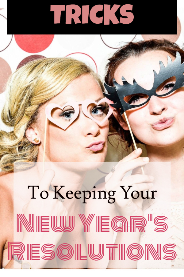 Here's how to keep your New Year's Resolution (good new year's resolutions/ goals for January/ New year's weight loss/ New Year's get in shape/ how to set a new year's resolution/ get rid of holiday weight gain/ fast weight loss/ get in shape quick/ be better with money/ save more money/ best new year's resolutions)