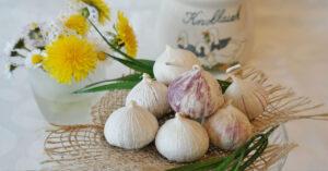 easy cleanse garlic