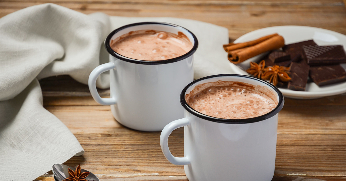 diet friendly hot cocoa (hot chocolate)
