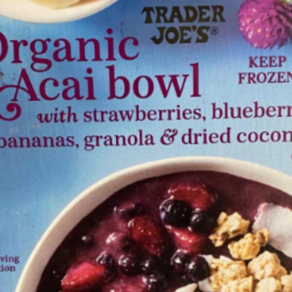 Trader Joe's Organic Acai Bowl Review!