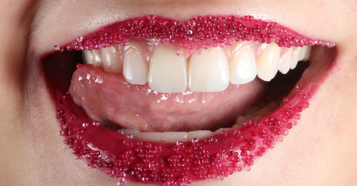 healthy sexy mouth